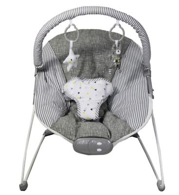 NEW Red Kite Baby Bouncer Seat - Padded with Head Hugger - Grey