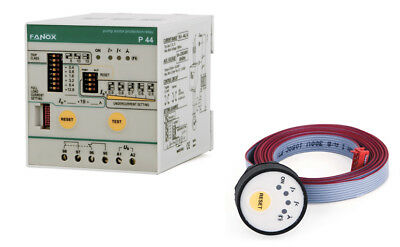 3-Phase Pump Protection Relay WITHOUT LEVEL SENSOR, by Undercurrent