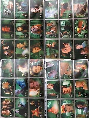 Buffy Vampire Slayer: Season 6 Trading Cards Komplett NEU Complete NEW