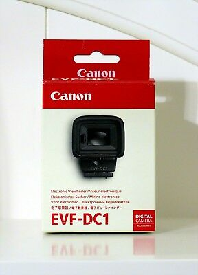 NEW - CANON EVF-DC1 Electronic Viewfinder for G1 X Mark II, G3X & EOS M3 Cameras