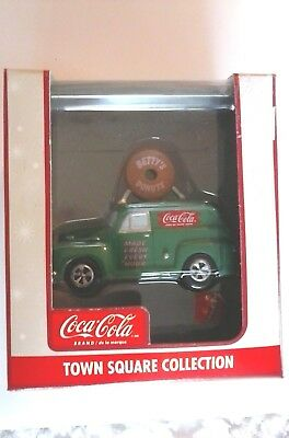 Coca-Cola Town Square Collection Betty's Donuts Car Item #CG248701 New in Box