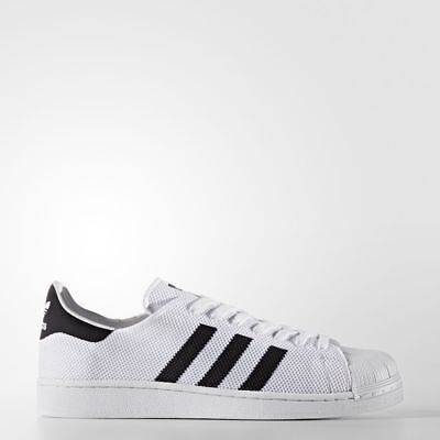 NEW Adidas $100 Men's Superstar Shoes BB2236 White Black