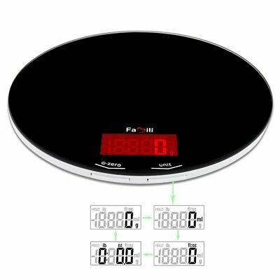 Digital Kitchen Scale Electronic Food Weighing Diet Cooking Scale 11lb Capacity