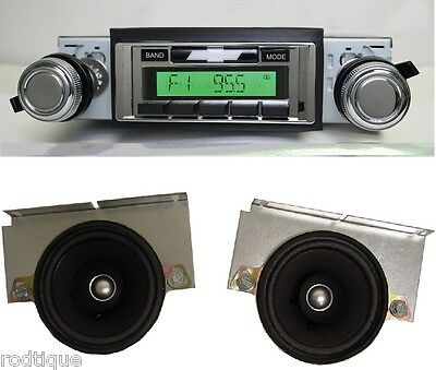 1973-77 El Camino Malibu Radio iPOD/USB/Aux  Stereo 630 II + Dash Speakers**