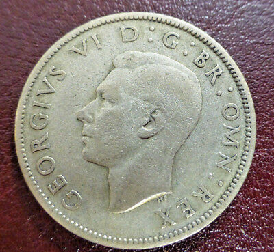 Great Britain Florin, Two Shillings, 1943 SILVER
