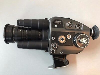 Beaulieu 4008 ZMII in excellent good condition Angenieux 8-64mm Zoom T1.9