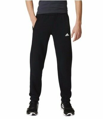 New Boys Junior Kids Adidas Tracksuit Jogging Bottoms Joggers Sweat Pants Black