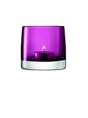 LSA International 8.5 cm luce portacandele, Heather - NUOVO