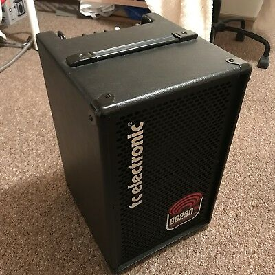 TC Electronic Bass BG250 D Bass Combo 250w Pro Amp purchased 8 weeks ago £349!
