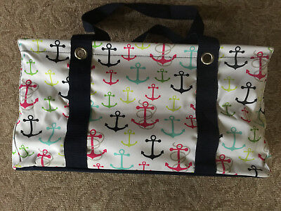 Thirty One Medium Utility Tote First Mate Anchors
