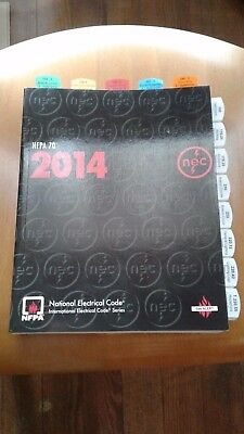 2014 nec code book tabs and  highlighted
