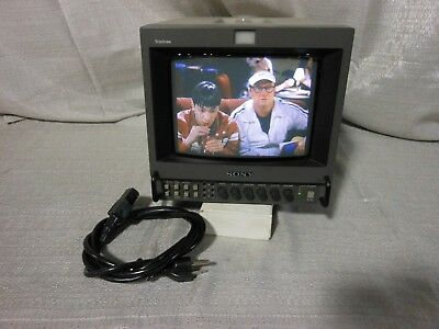 "SONY PVM-8042Q 8""  VIDEO PRODUCTION /SECURITY MONITOR  With Power Cable"