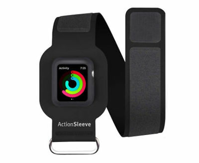 Twelve South ActionSleeve Armband for 38mm Apple Watch - Black