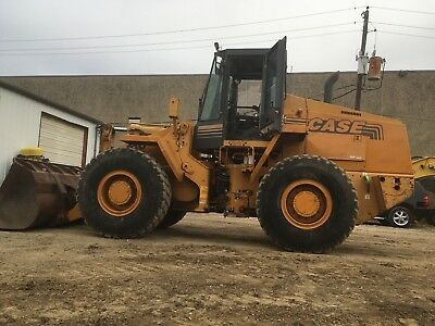 1996 CASE 621B Wheel Loader; TX Machine; 6018 HRS