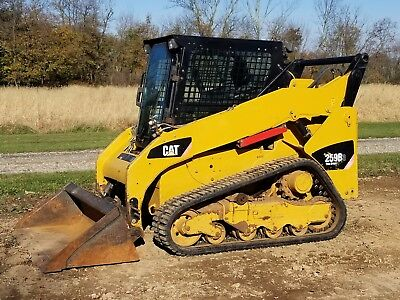 2011 Caterpillar 259B3 Compact Track Loader - 2 Speed - Enclosed Heated Cab