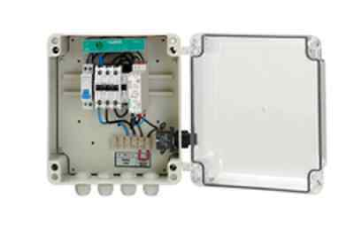 Single Phase Pump Protection Panels WITHOUT LEVEL SENSOR, by Undercurrent
