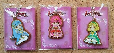Japan MAGIC KNIGHT RAYEARTH UMI RUBBER KEYCHAIN clamp anime manga charm break