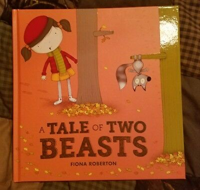 A Tale of Two Beasts by Fiona Roberton Kane Miller Usborne Books Hardcover NEW