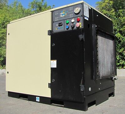 Ingersoll Rand 25 HP Rotary Screw Air Compressor UP6-25-125 Only 42,191 hours