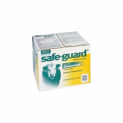 Safe-Guard Block Sweetlix 25 Pounds Cattle Dewormer