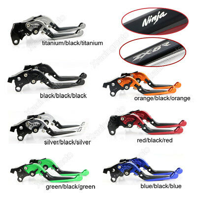 Foldable Extendy Brake Clutch Levers For 2005-2006 Kawasaki ZX636R ZX-636R 05-06