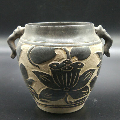 Collection of Chinese hand-painted lotus pottery