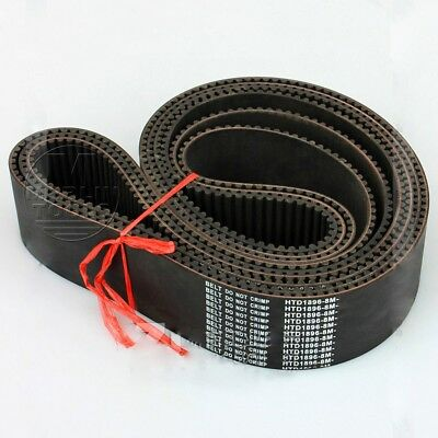 HTD 8M Timing Belt 8mm Pitch - 15 to 40mm Wide - 1400 to 1960 long - Select