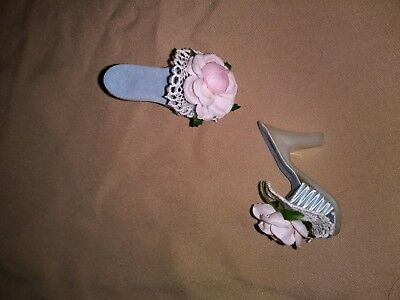 Madame Alexander 1950's Cissette Doll Blue high heel shoes VINTAGE