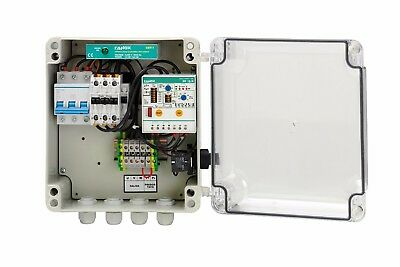 Fanox 3-Phase Pump Protection Panel WITHOUT LEVEL SENSOR