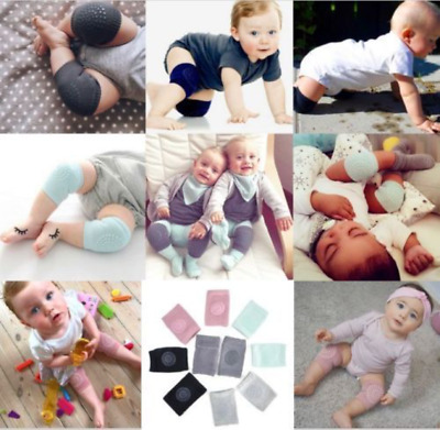 Kids Soft Anti Slip Elbow Cushion Crawling Knee Pad Infant Toddler Baby Safety