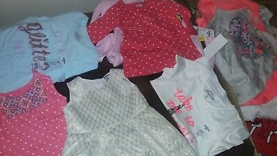 NEW Wholesale Mixed Lot 100 Assorted Girl Children Clothing Infant Babies NB-3T
