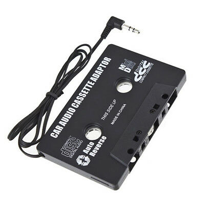1 Pc 3.5mm Audio AUX Car Cassette Tape Adapter Converter for iPhone iPod MP3 CD
