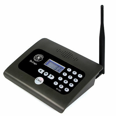 Wireless Calling Intercom System 2-way Desktop RadioDuplex Indoor 400-470Mhz Top