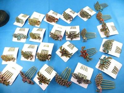10 pcs vintage antique wholesale french twist hair comb *Ship From US/Canada*