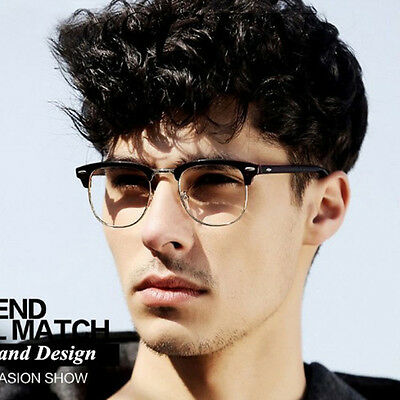 New Fashion Clear Lens Nerd Frames Glasses Mens Womens Eyewear Designer Retro
