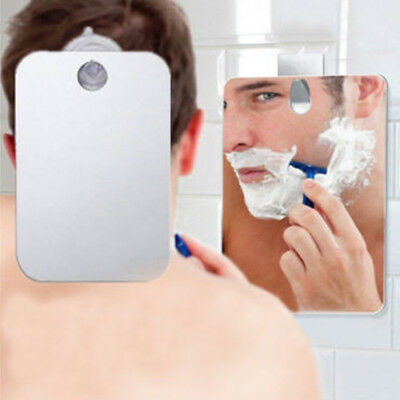 Fog Free Shower Mirror Anti-Fog Fogless Shaving Mirror Bathroom Washroom 173x132