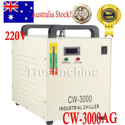 CW-3000DG Thermolysis Industrial Water Chiller 50W CO2 Laser Engraving Machine