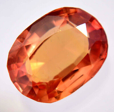 VVS 8.60 Ct Natural Ceylon Padparadscha Sapphire AGSL Certified AAA+ Gem Stone