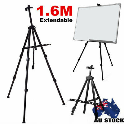 2X Black Heavy Duty Metal Tripod Easel Artist Painting Folding Display Stand