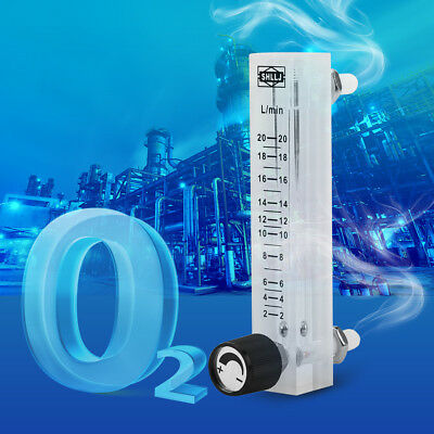 LZQ-7 Flowmeter (2-20LPM Flow Meter) with Control Valve for Oxygen /Air Hot