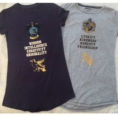 Ladies HARRY POTTER  Pyjamas Nightdress T Shirt Nightshirt Primark