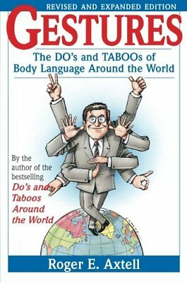 the dos and taboos of body language around the wold Or check out this online tutorial for japanese sign language there's this young  woman  roger e axtell, gestures: the do's and taboos of body language  around the world, rev and expanded ed (new york: john wiley.