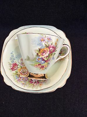 Windsor Trio Vintage Collectable Cup Saucer Cake Plate 1952