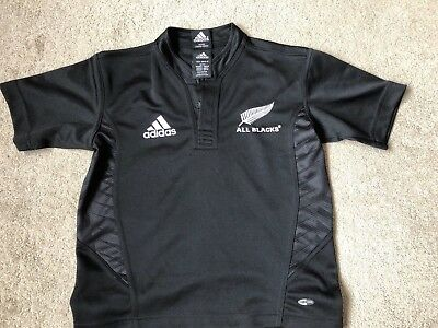 Adidas All Blacks Kids Rugby Shirt Size 8 Years Old - Official merchandise