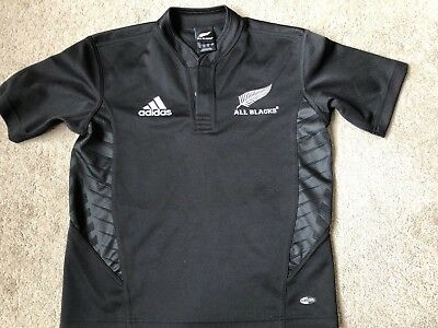 Adidas All Blacks Rugby Shirt UK 28/30 - Small Youth  Official merchandise