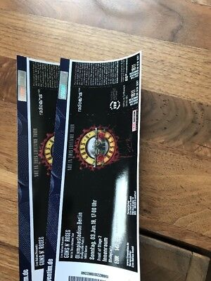 Guns N Roses TICKETS -  FRONT OF STAGE - BERLIN - 03.06.2018