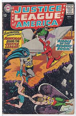 Justice League of America (Vol 1) #  31 (Vgd Minus-) (VG- )  RS003 DC Comics AME