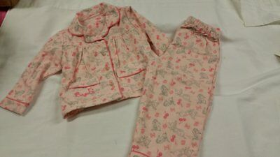 Primark Soft Disney Bambi Pj's Pyjamas Nightwear Bnwt All Sizes Xmas Baby