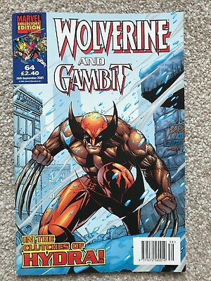 WOLVERINE AND GAMBIT VOL.1 # 64 / MARVEL / PANINI COMICS UK / 26th SEPT 2001