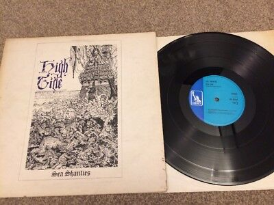 High Tide - Sea Shanties Vinyl LP Liberty Blue 1969
